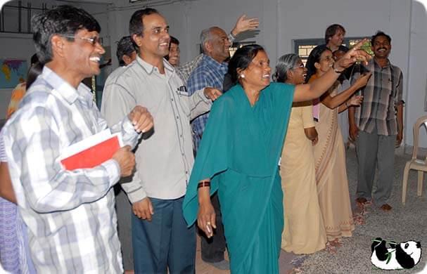 A joyful, liberating eureka experience at one of the Indian training event of BOCS...   BOCS Foundation - Global Think Tank